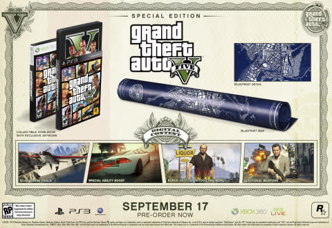 Rockstar Games is very proud to announce full details of the Special Edition and Collector's Edition ...