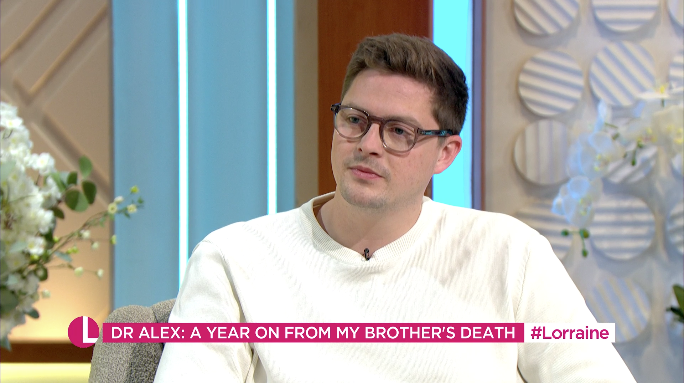 Dr Alex George still feels we need to tackle the shame surrounding talking about mental health (ITV)