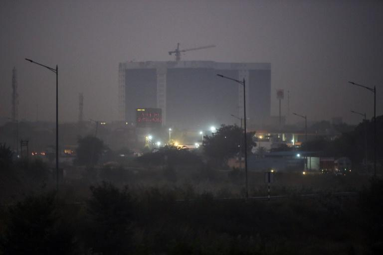 Because of Delhi's position and weather pattern, every winter the city is choked by deadly smog