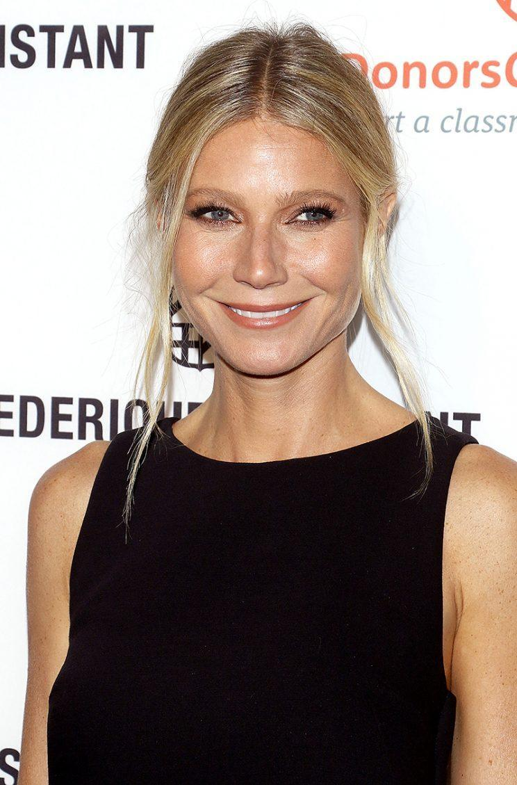 Gwyneth Paltrow attends the Frederique Constant Horological Smartwatch.