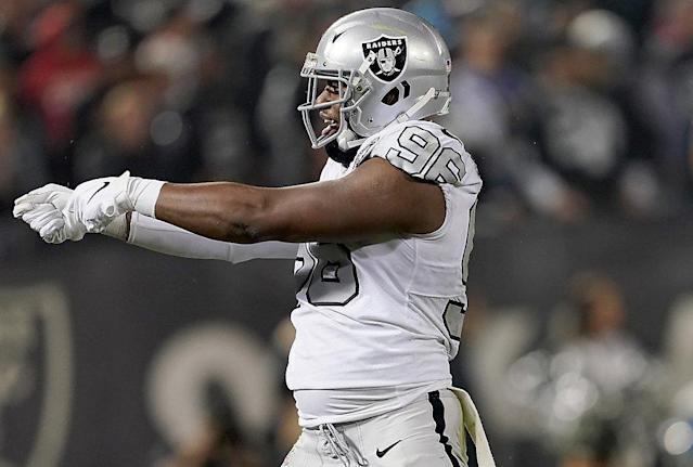 Raiders' defense: Ferrell at full strength, new arrivals could play Sunday