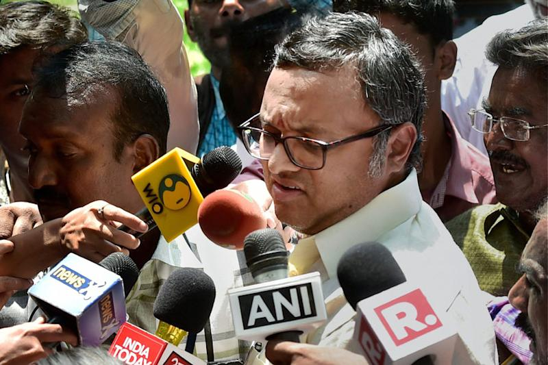 Karti Chidambaram Sent to Tihar Jail for 12 Days; Plea for Separate Cell, Home Food Denied