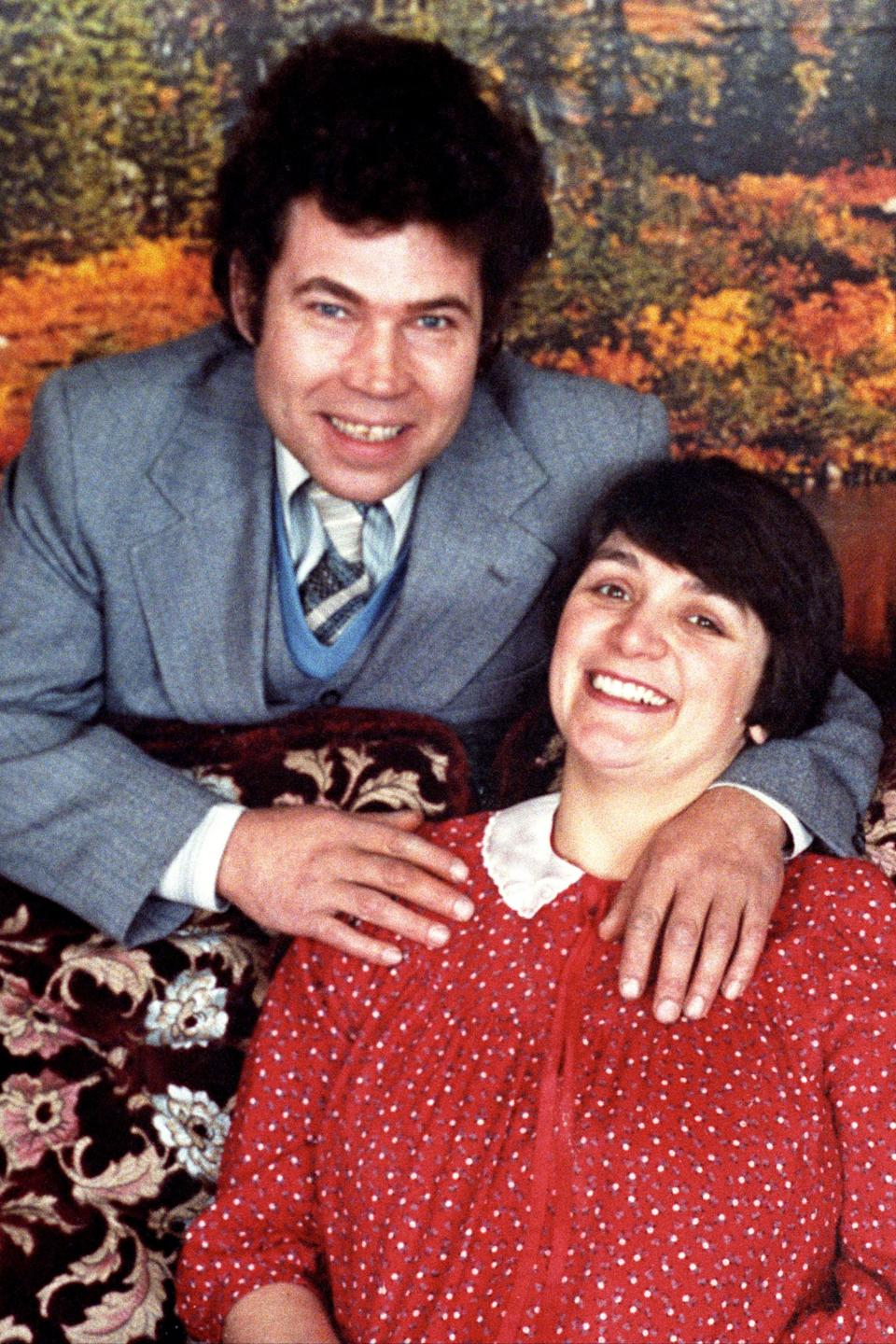 Serial killers Fred and Rosemary WestPA