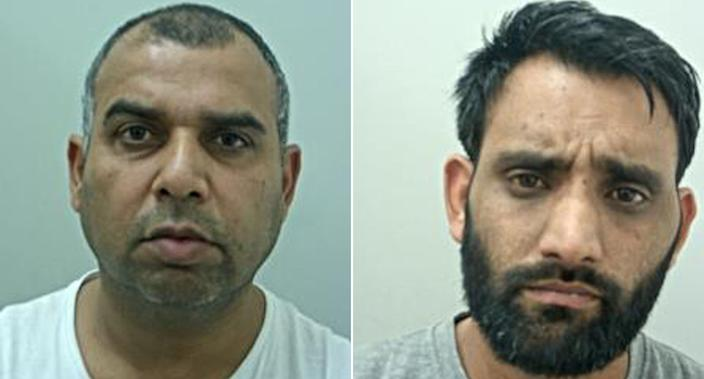 Sadaqat Ali, right, played the leading role in the attack, the court heard. Left: Syed Akbar (PA)