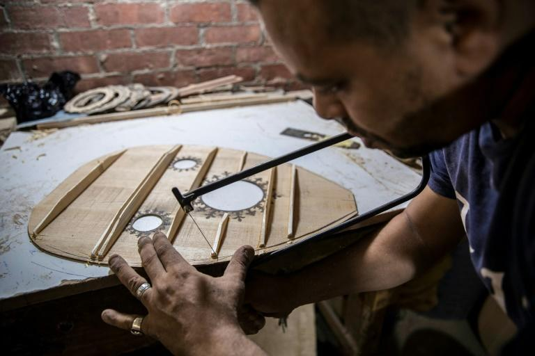 The oud, a stringed instrument popular in the Middle East whose origins date back thousands of years, is a key element of classical Arabic music