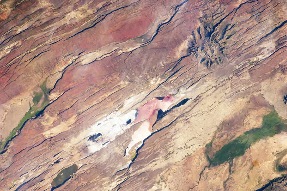 Image: East African Rift Valley, satellite view (NASA)