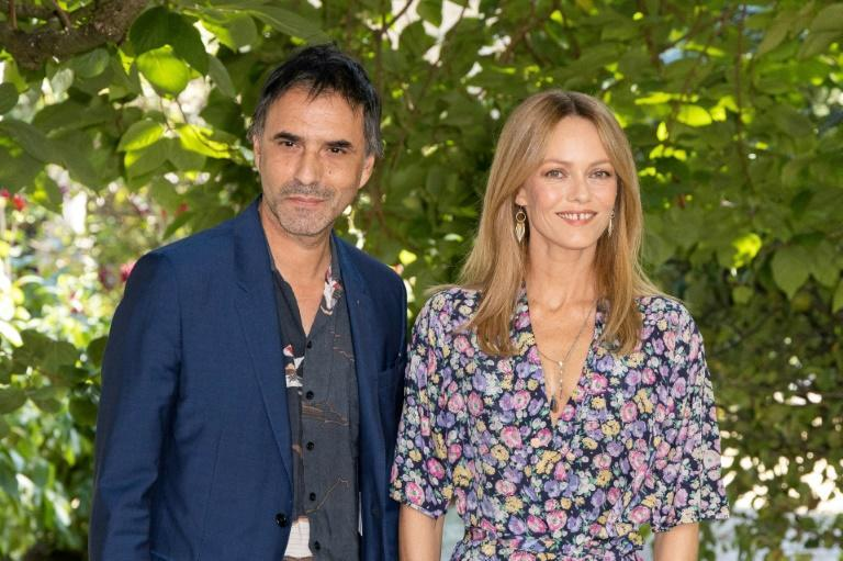 Paradis also worked with her director husband Samuel Benchetrit on 'Love Songs for Tough Guys' (AFP/Yohan BONNET)