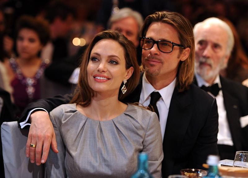 Brad Pitt seen with 'Arrested Development' actress