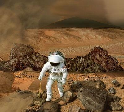 Toxic Mars: Astronauts Must Deal with Perchlorate on the Red Planet