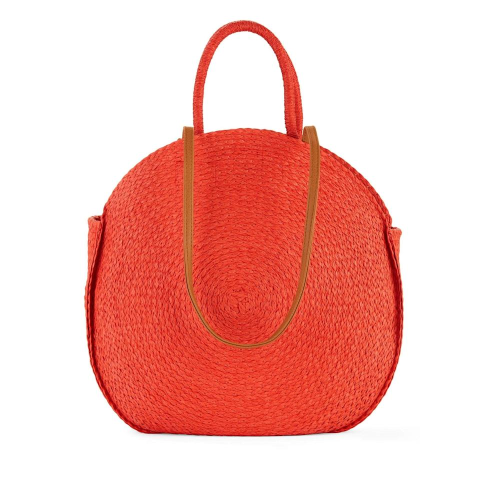 <p>Your Summer wardrobe requires this <span>Time &amp; Tru Straw Circle Tote</span> ($17).</p>