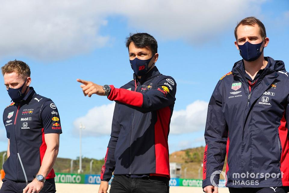 "Alex Albon, Red Bull Racing<span class=""copyright"">Charles Coates / Motorsport Images</span>"