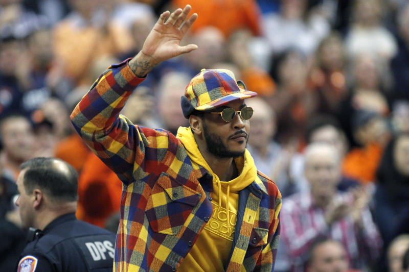 AP Source: Carmelo Anthony to return to NBA with Blazers