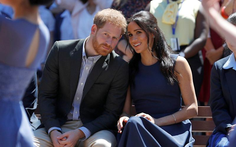 The Duke and Duchess of Sussex are about to embark on a tour of southern Africa, their first with son Archie - Reuters POOL