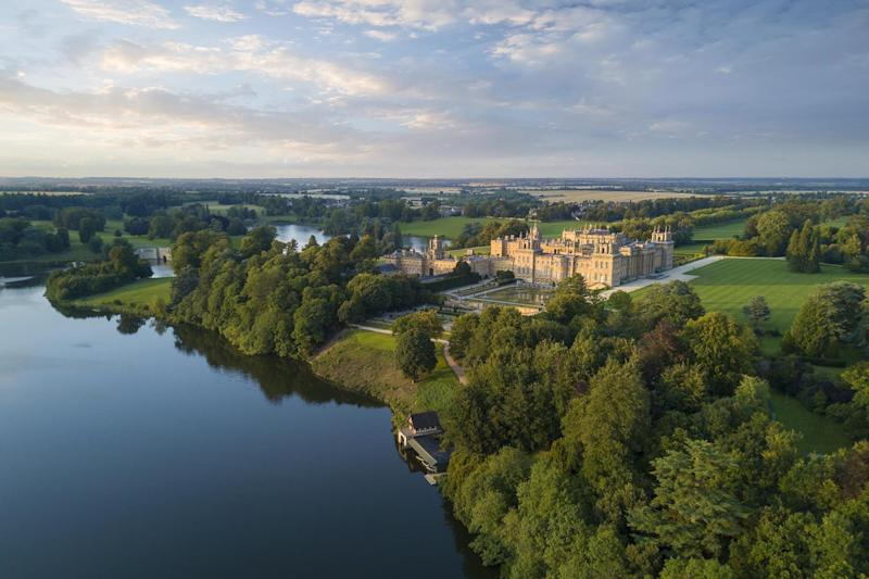 Visited by some 600,000 tourists per year, Blenheim Palace was built in the early 18th century and is now home to the 12th Duke of Marlborough