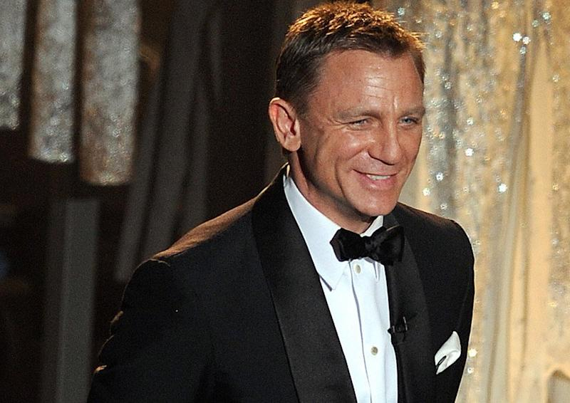 Leaving: Daniel Craig will be done as Bond after the next film (AFP/Getty Images)