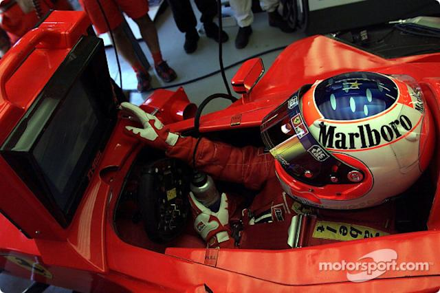 "Rubens Barrichello <span class=""copyright"">Ferrari Media Center</span>"