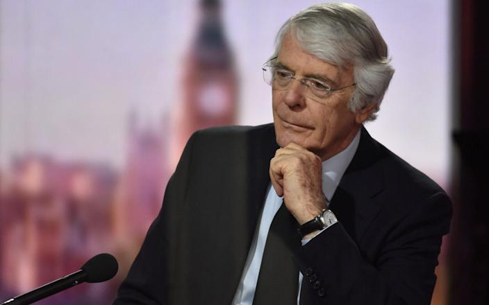 Sir John Major's intervention comes after the former Labour Prime Minister Gordon Brown called for tougher rules - Jeff Overs/BBC/via Reuters