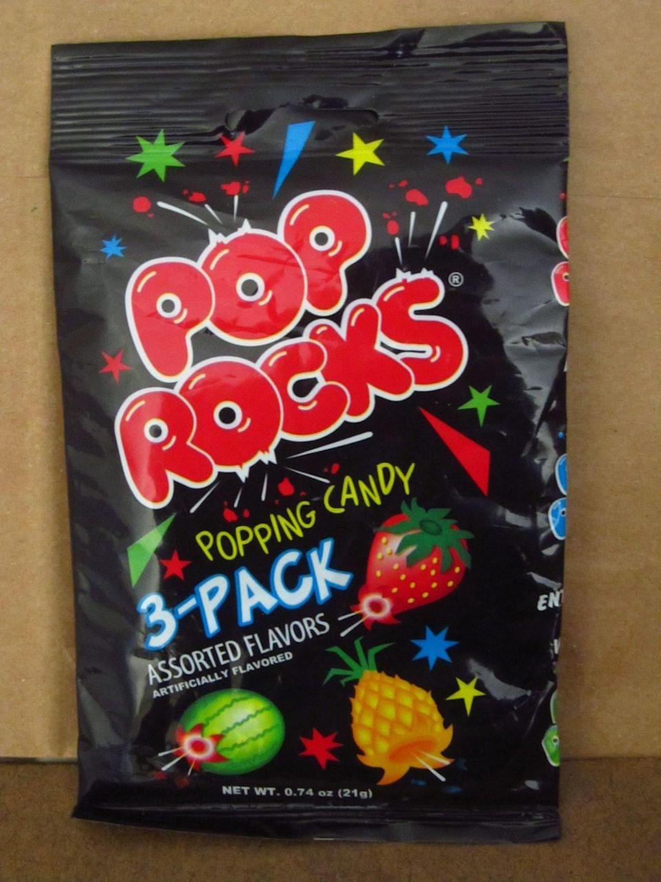 <p>This candy has serious staying power. It's sweet, fun, and an easily portable treat. Make sure you pop them before the movie starts though!</p>