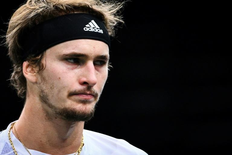 Zverev was in a defiant mood after his Paris Masters final loss