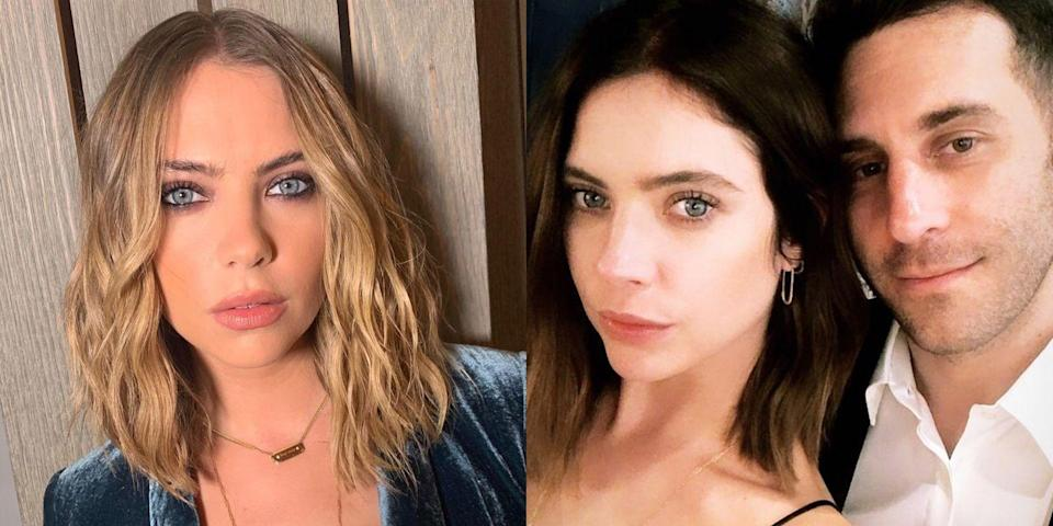 <p>Ashley Benson just shed the blonde hair she's been rocking for years, for a classic fall upgrade. She covered her bleached strands with a gorgeous chestnut ombre that fades from black-brown to caramel. Call me basic, but I'm copying this look stat.</p>