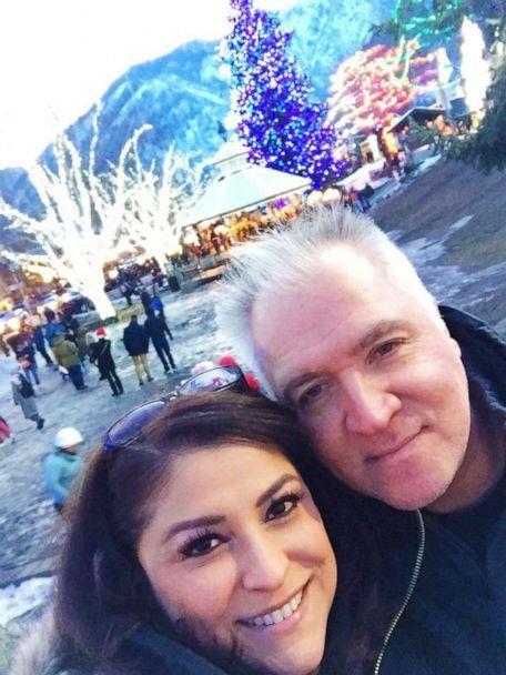 PHOTO: Angela Herrera and her fiance, Paul, pose together in December 2018, just after becoming engaged and finding out their fertilized eggs failed. (Courtesy Angela Herrera)