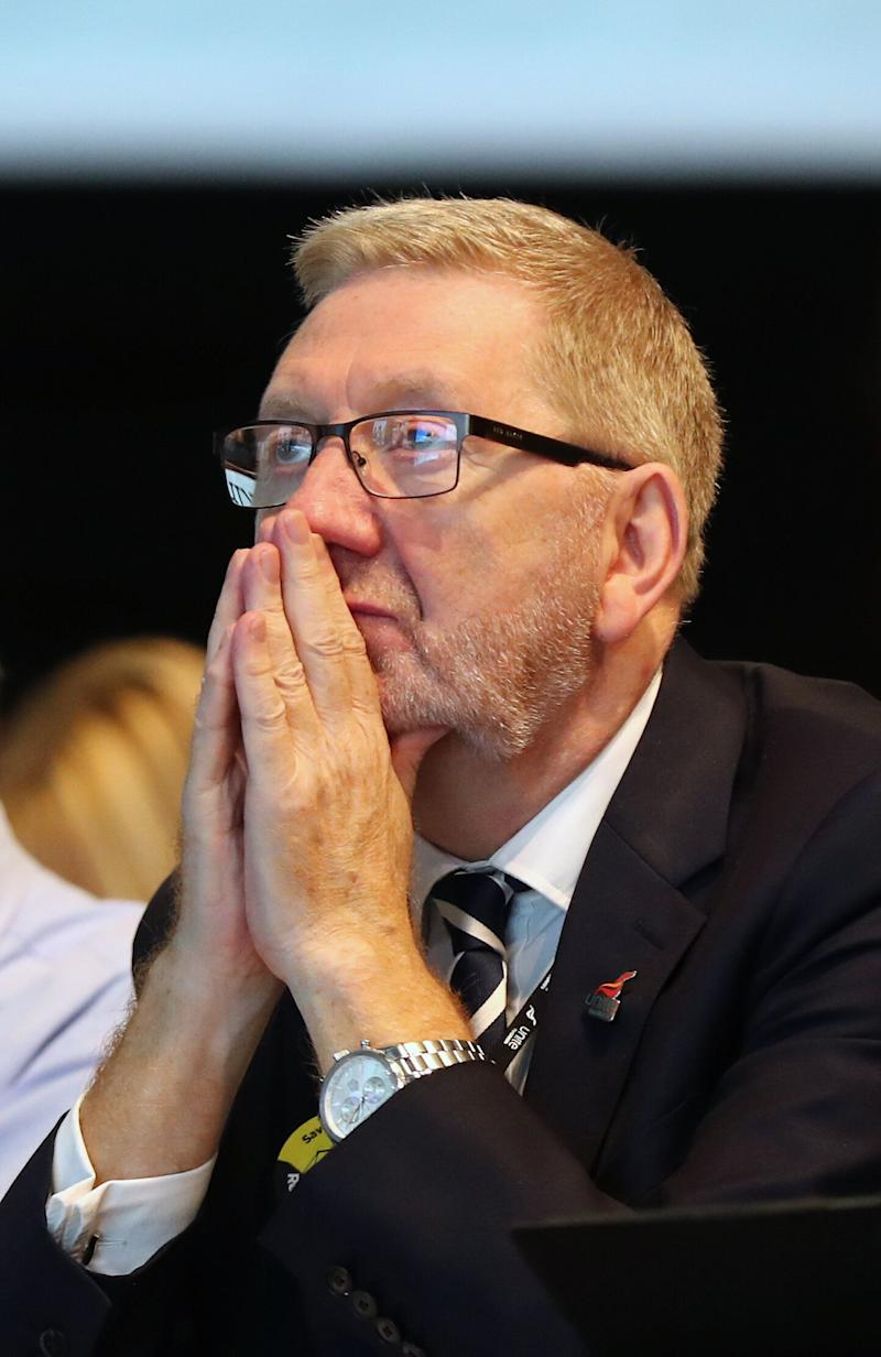 Len McCluskey, General Secretary of Unite the union, during the TUC Congress in Brighton. (Photo: PA Wire/PA Images)