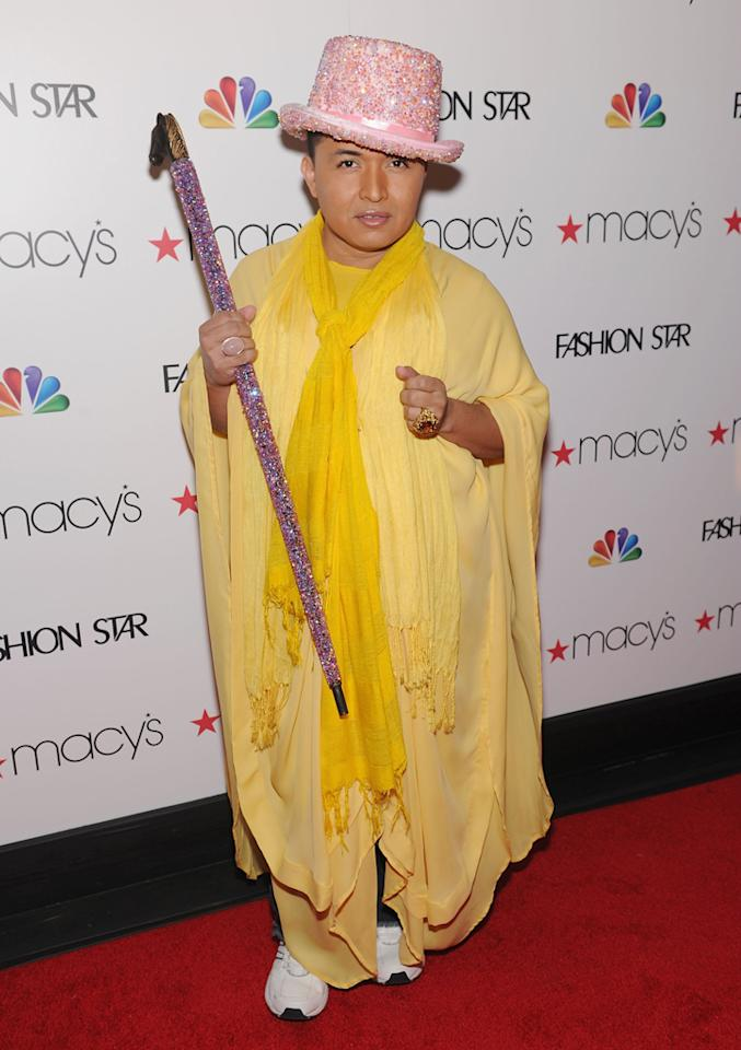 """Designer and 'Fashion Star' participant Oscar Fierro attends the """"<a target=""""_blank"""" href=""""http://tv.yahoo.com/fashion-star/show/47285"""">Fashion Star</a>"""" celebration at Macy's Herald Square on March 13, 2012 in New York City."""