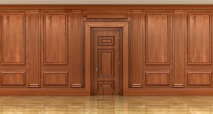Once again, too much of a good thing usually becomes a bad thing. Just take this stale-feeling all-wood room for example.