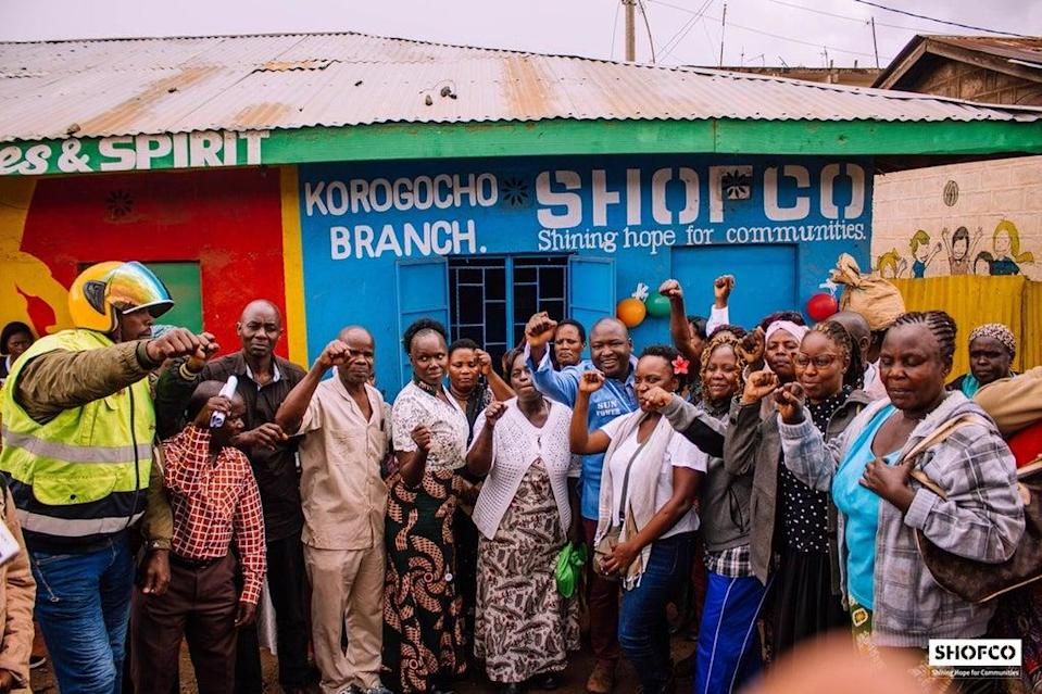 The failure of philanthropic funding in Africa is that so little of it reaches African CSOs, such as Shofco  (Shofco)