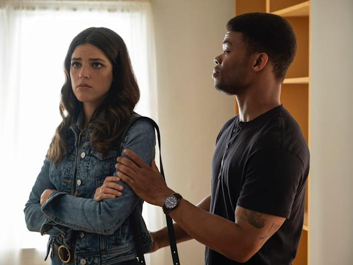 Callie Hernandez and Paul James in Soundtrack Eddy Chen Netflix