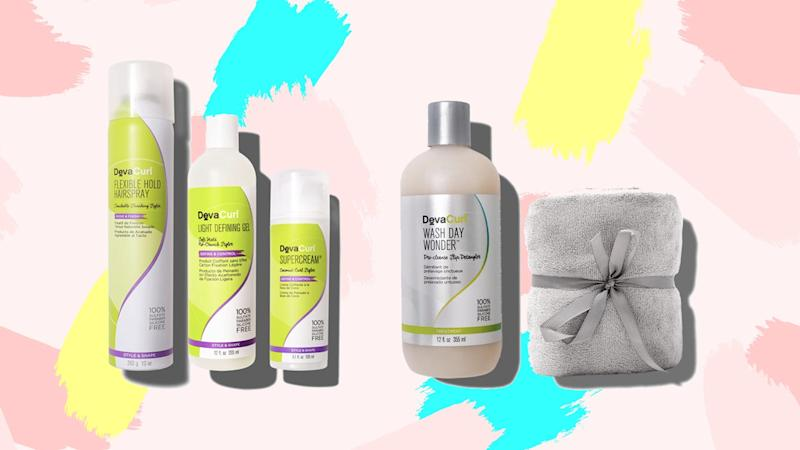 Pamper your curls during this 25% off sale happening at DevaCurl.