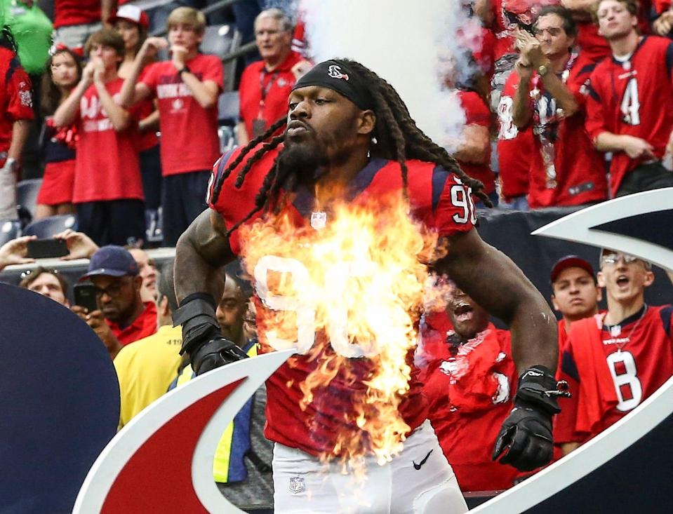 A new number could be straight fire for Jadeveon Clowney, who wore No. 90 for the Texans.