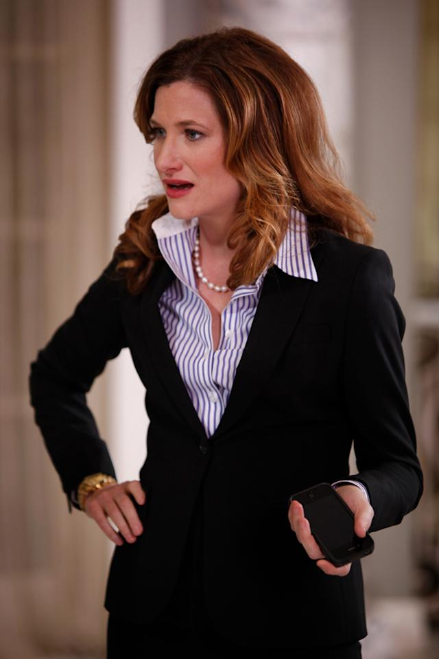 "<b>Kathryn Hahn, ""Parks and Recreation"" (Guest Actress, Comedy) </b><br><br>We normally find the Guest Actor and Actress categories to be a little pointless, but since they're here anyway, let's use them to recognize Hahn, who absolutely stole the show on NBC's ""Parks and Rec"" in her too-brief stint as Bobby Newport's hired-gun campaign manager, Jennifer Barkley. She's the kind of gal who can rip the heart out of her opponent while smiling and texting -- and doesn't really care which side she's on, as long as the check clears. We're actually kind of sad that Leslie's campaign is over, because that means no more Jennifer. Unless her affair with Chris Traeger continues next season. Fingers crossed!"