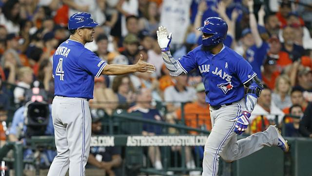 The Toronto Blue Jays crushed five home runs in a win over the Houston Astros in MLB.