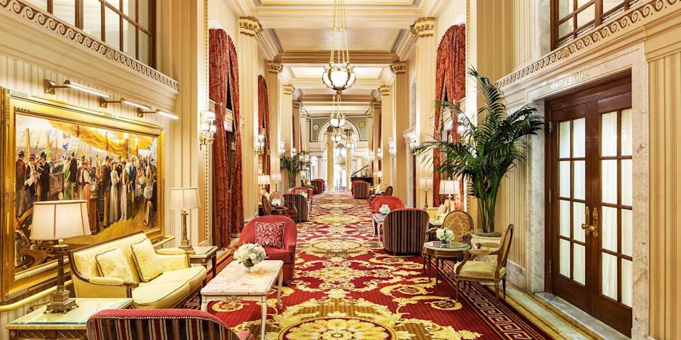 """<p>When it comes to historic hotels, you can't leave <a href=""""https://www.bestproducts.com/fun-things-to-do/news/g2698/best-things-to-do-in-washington-dc/"""" rel=""""nofollow noopener"""" target=""""_blank"""" data-ylk=""""slk:Washington, D.C."""" class=""""link rapid-noclick-resp"""">Washington, D.C.</a> off the list, as our nation's capital has plenty of contenders. <a href=""""https://go.redirectingat.com?id=74968X1596630&url=https%3A%2F%2Fwww.tripadvisor.com%2FHotel_Review-g28970-d84131-Reviews-Willard_InterContinental_Washington-Washington_DC_District_of_Columbia.html&sref=https%3A%2F%2Fwww.redbookmag.com%2Fabout%2Fg34149750%2Fmost-historic-hotels%2F"""" rel=""""nofollow noopener"""" target=""""_blank"""" data-ylk=""""slk:The Willard"""" class=""""link rapid-noclick-resp"""">The Willard</a>, built in 1818, has hosted everyone from Abraham Lincoln to the Dalai Lama, and the <a href=""""https://www.tripadvisor.com/Restaurant_Review-g28970-d4517049-Reviews-Round_Robin_Bar-Washington_DC_District_of_Columbia.html"""" rel=""""nofollow noopener"""" target=""""_blank"""" data-ylk=""""slk:Round Robin Bar"""" class=""""link rapid-noclick-resp"""">Round Robin Bar</a> is still where politicos talk shop — it's just minutes from the White House. </p>"""
