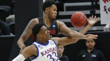 Lawson carries Kansas over Northeastern 87-53 in Midwest