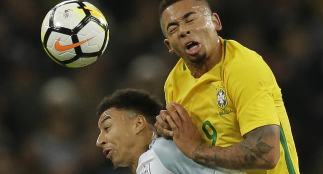 Inglaterra 0 x 0 Brasil – Amistoso (Getty Images)