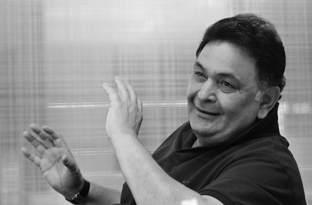 Rishi Kapoor, September 1952- April, 2020
