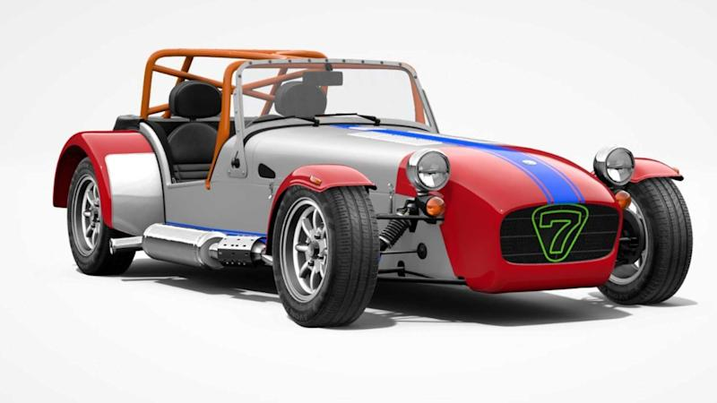 Caterham launches its first in-store car configurator