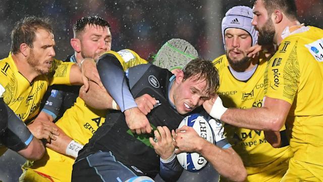 Long-serving Glasgow Warriors lock Jonny Gray will leave Scotstoun to join Premiership leaders Exeter Chiefs.