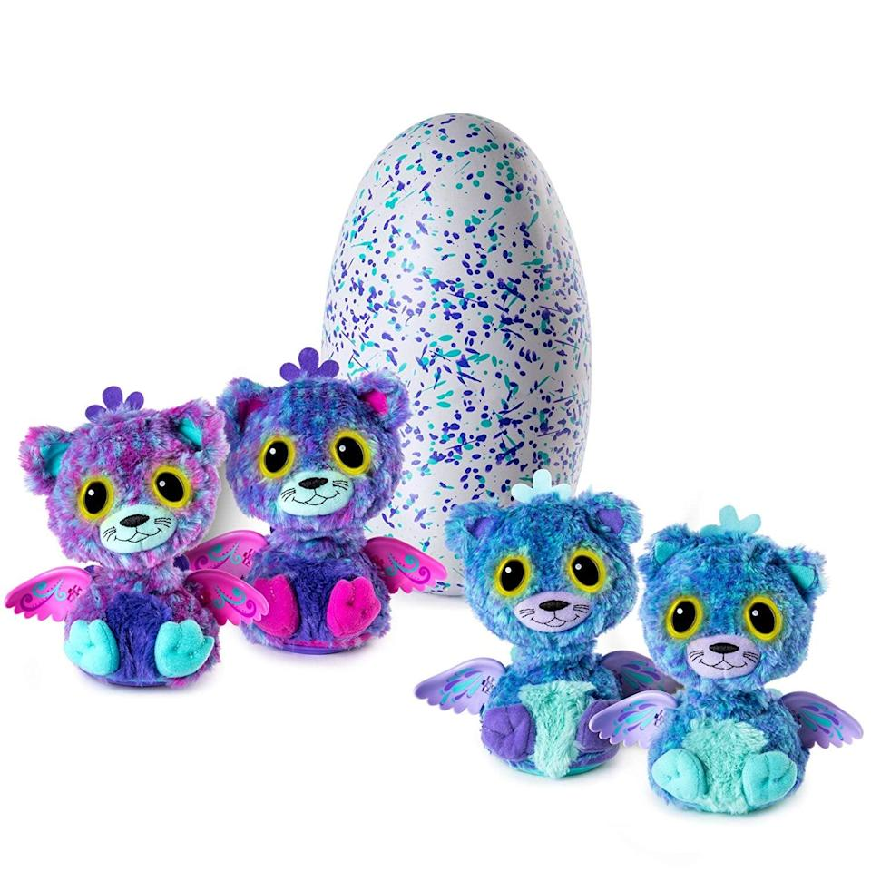 <p>This <span>Hatchimals Surprise: Peacat</span> ($100) is a total two-fer.</p>