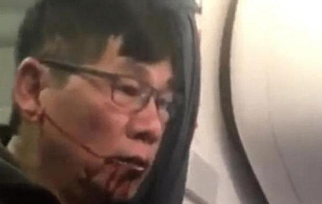 Pictures of Dr Dao bloodied and dazed have made headlines around the world. Photo: Twitter