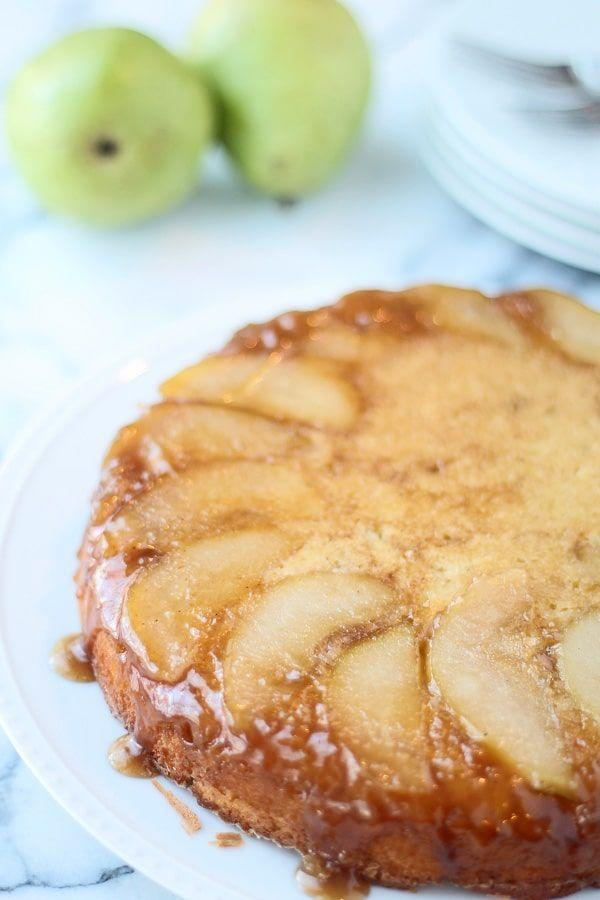 "<p>Go home, pineapple.</p><p>Get the recipe from<span class=""redactor-invisible-space""> <a href=""http://www.cookingforkeeps.com/brown-butter-upside-down-pear-cake/"" rel=""nofollow noopener"" target=""_blank"" data-ylk=""slk:Cooking For Keeps"" class=""link rapid-noclick-resp"">Cooking For Keeps</a>.</span></p>"