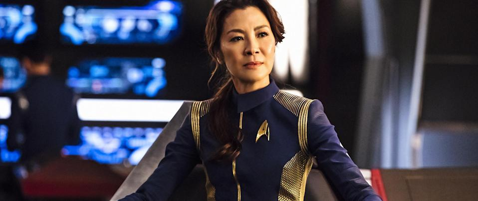 Michelle Yeoh as Captain Georgiou (Netflix)