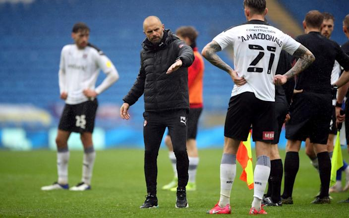 Derby survive after late Martyn Waghorn penalty keeps Wayne Rooney's men in the Championship - Nick Potts/PA