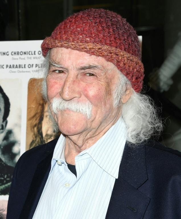 David Crosby, shown here in 2019, has been busy writing more songs with tours grounded by Covid-19