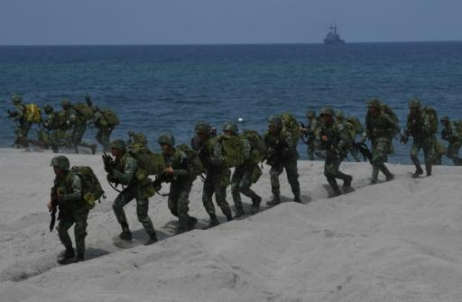 The number of troops taking part in the drills has increased by a third from last year to 8,000