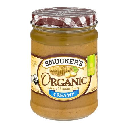 """<p><strong>Smucker's</strong></p><p>walmart.com</p><p><strong>$4.18</strong></p><p><a href=""""https://go.redirectingat.com?id=74968X1596630&url=https%3A%2F%2Fwww.walmart.com%2Fip%2F10308151&sref=http%3A%2F%2Fwww.menshealth.com%2Fnutrition%2Fg28466347%2Fbest-peanut-and-nut-butters%2F"""" target=""""_blank"""">BUY IT HERE</a></p><p>This supersmooth peanut butter is worth slathering on everything: hot waffles, crisp apples, just-baked banana bread. One person even said it tastes like the kind of PB you grind yourself at fancy grocery stores. </p><p>Per 2 Tbsp: 180 calories, 8g protein, 5g carbs (3g fiber), 16g fat</p>"""