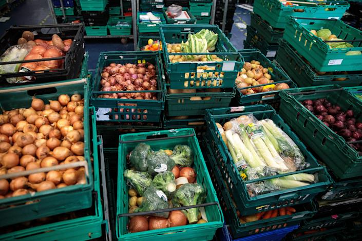 <p>Just 24,242 tons was passed on to the needy out of 282,338 tons of unsold food approaching its use-by or best-before date</p> (Getty)