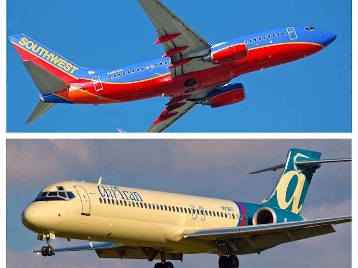 Air Tran Airways and Southwest Airlines merger